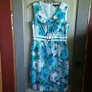 Alex Marie Floral Midi Dress